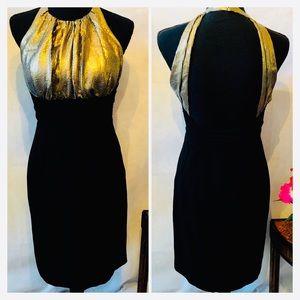 Calvin Klein Backless Cocktail Dress